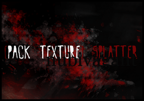 PACK TEXTURE - 3 LARGE SPLATTER TEXTURE by pandaisia