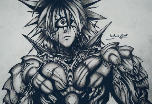 lord boros / one punch man  by Hzaherart