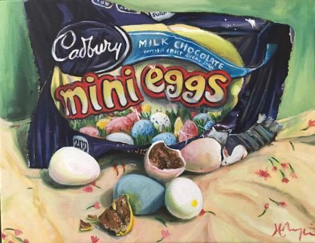 Mini Eggs by HillaryWhiteRabbit