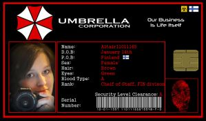 Umbrella ID for Altair11011165 by rubenick
