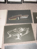 G.M. 50's convertible concept designs by cadillacstyle