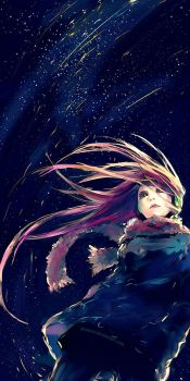 Falling Lights by yuumei