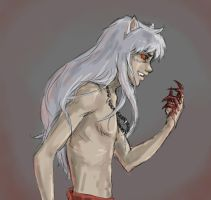 Inuyasha - demon by ab-lynx
