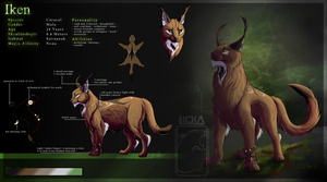 Iken Reference Sheet [2015] by Nychata