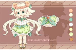 [adopt auction closed] Flower Pastel by shanyii