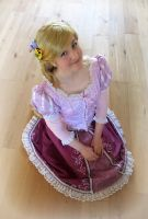 Tangled Rapunzel cosplay 4 by KatintheAttic