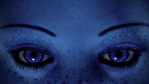 DEM Eyes from Liara T'Soni by hollow227