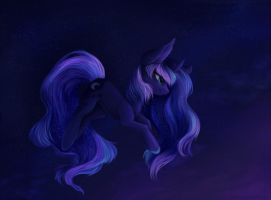 Luna's lullaby by Shedence