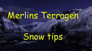 Terragen Snow Tips by terragen