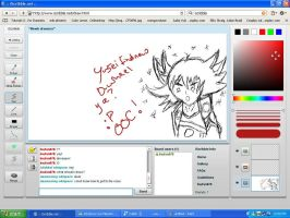 Iscribble Yusei OOC moment by Inufan078