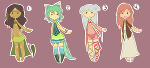 Human Adopt Set 5 CLOSED by DreamxCafe