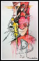 The Man Without Fear: Daredevil by Tudalia