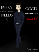 Moriarty by InvaderElm