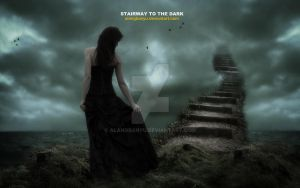 stairway to d dark by alangbanyu