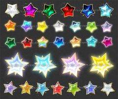 Stars - 1 (downloadable stock) by Rittik-Designs