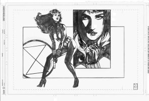 Black Widow Commission '07 by DrewEdwardJohnson