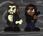 Sleepy Hollow Chibis by cardinalbiggles
