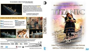 Titanic Blu-ray Cover ReWorked by kenernest63a