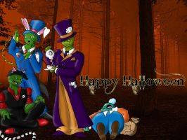 TMNT Happy Halloween 07 by Tempests-Aria