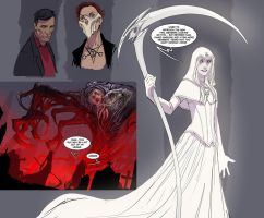 death vigil bernie the white! by nebezial