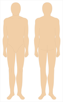 Uniform Mannequin, vectorized by Tounushi