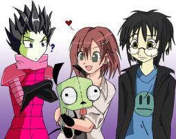 .:: Invader Zim ::. by GuardianAngel07