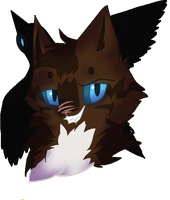 Warriors: Hawkfrost Headshot by Neko--Raven