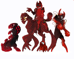 Magnian Symbiotes [ALL BIOGRAPHIES] by Gloomy-Butt