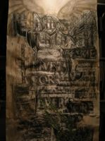 GCSE final piece - OverNeath by PaperFiend