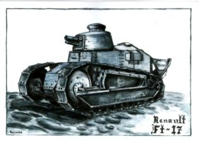 Renault FT-17 by Cune