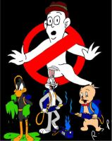 The Real QuackBusters -Loony Tunes Ghostbusters- by TimeLordParadox