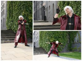 Dante cosplay - Amecon 2012 by BBWF-Tyrant