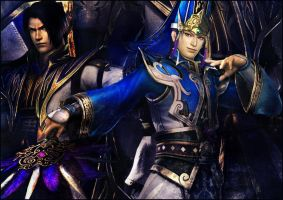 Cao Pi and Sima Yi by YoungPhoenix3191