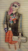 Punk girl by MorningGlory34