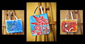 Canvas Bags by vivsters