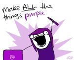 Make ALL the things purple by ox0kristen0xo