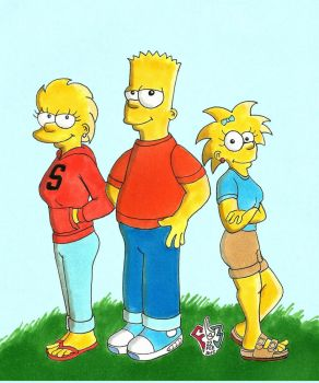 The Simpson Kids are Alright by Gulliver63