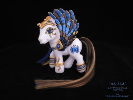 "Egyptian custom ""Azura"" by padawanclaramel"