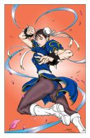 Chun Li Colored by MelloUshimawa