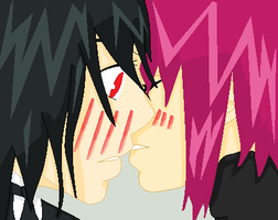 Meirin and Sebby, just kiss me. by AmericaFangirl
