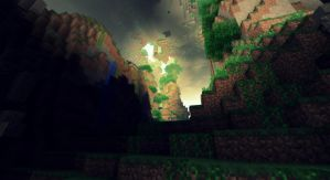 Minecraft - Une jungle souterraine - II by AleksCube