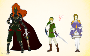 Legend of Zelda Genderswaps by HallowDew