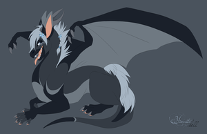 Hecate as a dragon by hecatehell