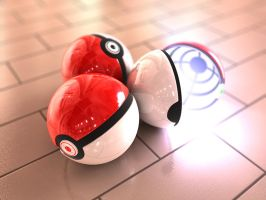 Pokeball 4 by BionicleGahlok