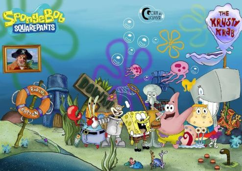 Spongebob Squarepants by CornandCucumber