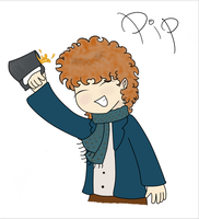 Pippin Took by Floating-Hobbit