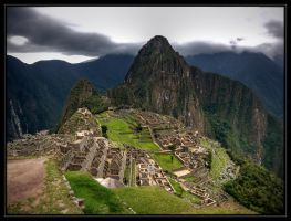 The Ruins of Machu Picchu by CashMcL