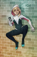 Spider-Gwen by yvash