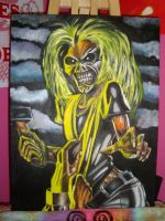 Eddie from Iron Maiden by crotchless-panties