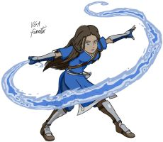 Katara by VGAfanatic